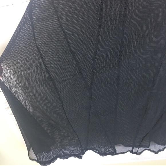 b989c0801eb8 Catherine Coatney Dresses & Skirts - Catherine Coatney Black Sheer Mesh  Maxi Skirt